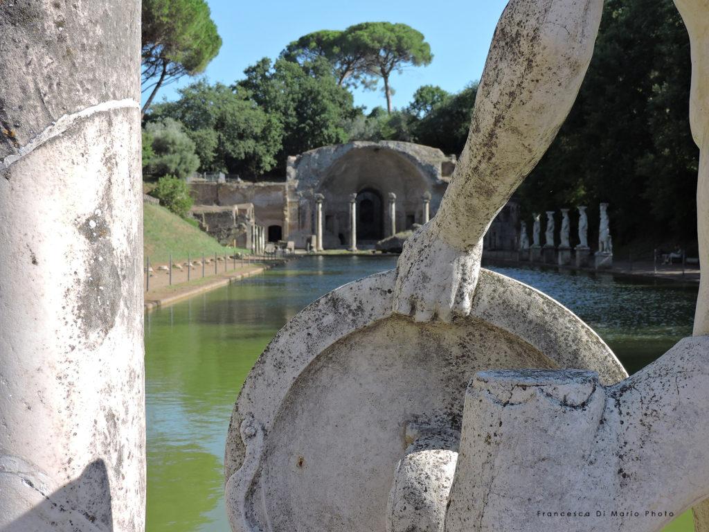 fotografia paesaggio villa adriana