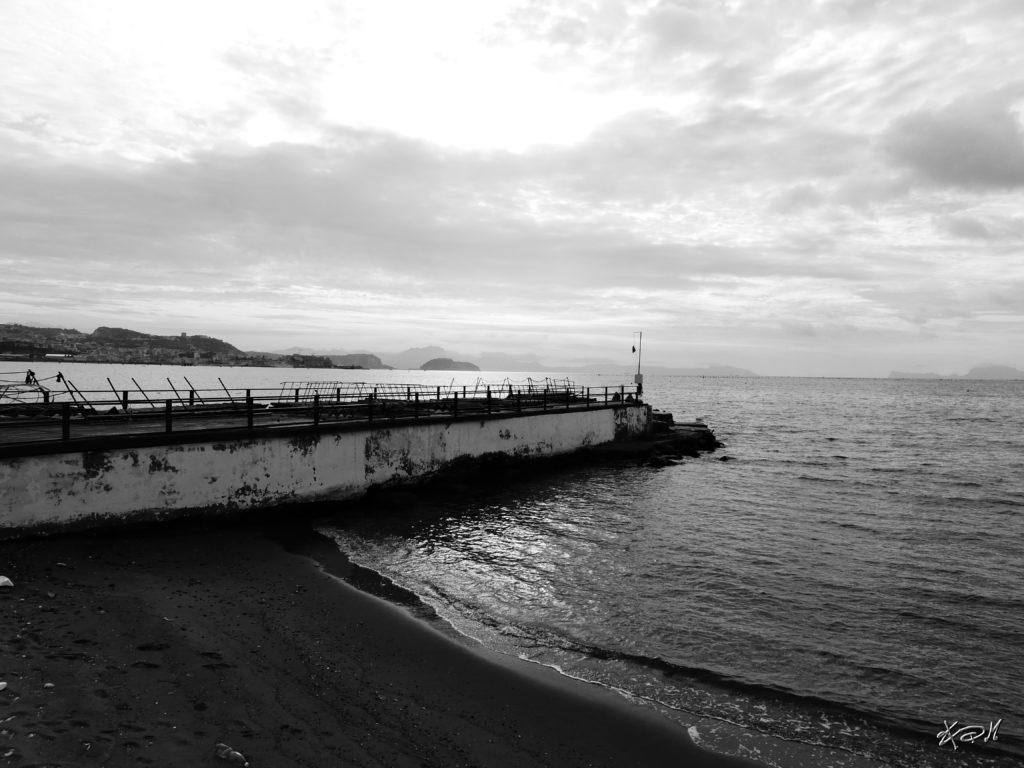 fotografia paesaggio mare pozzuoli