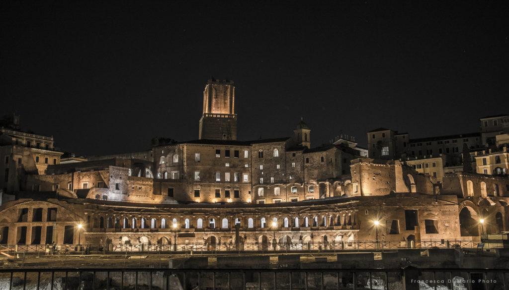 fotografia paesaggio Roma monumenti
