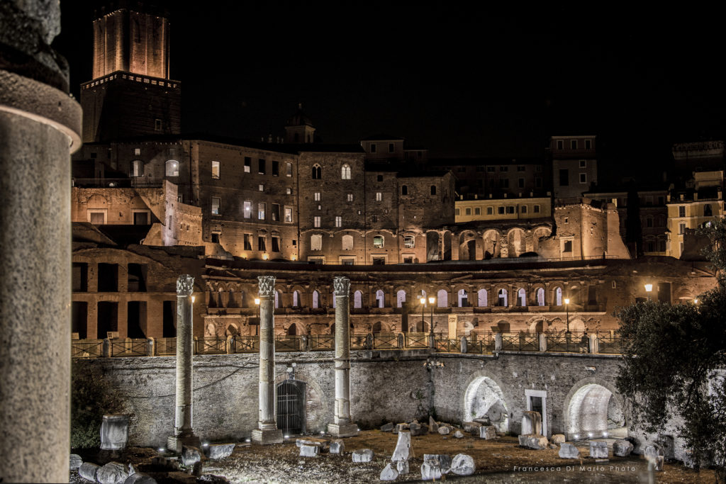fotografia paesaggio Roma fori imperiali