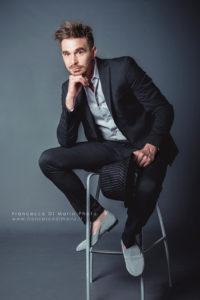 fotografo book moda roma uomo