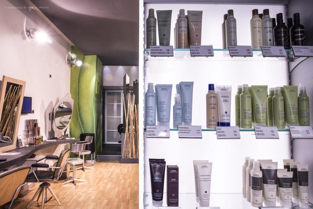 fotografo roma interni salone parrucchiere architettura