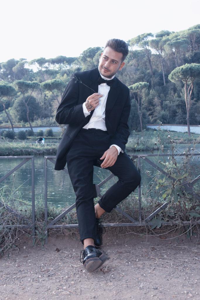 fotografo moda roma modello